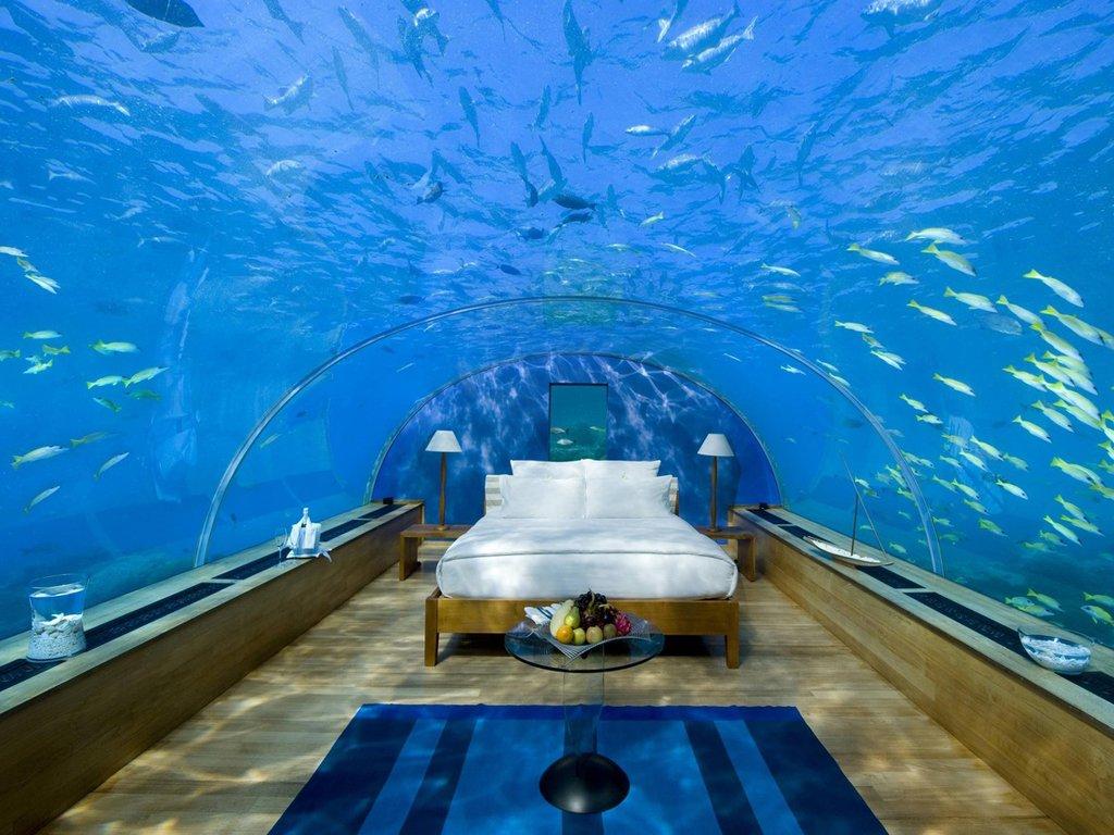 Poseid n undersea resort el primer hotel completamente for Hotel bajo el agua precio