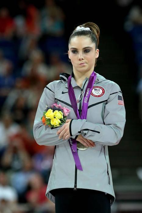 A McKayla Maroney no le pareció quedarse con la plata