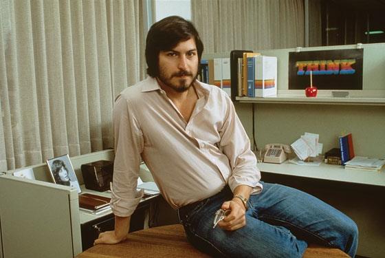 Foto original de Steve Jobs