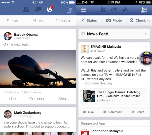 Facebook-iOS-7